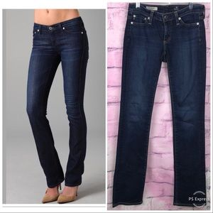 Ag Adriano Goldschmied Jeans - Ag Jeans The Ballad Slim Boot Dark Wash Size 24R